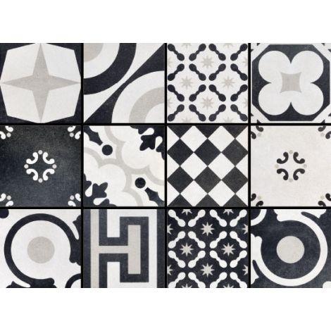 Fioranese Cementine Black&White Mix 20 x 20 cm