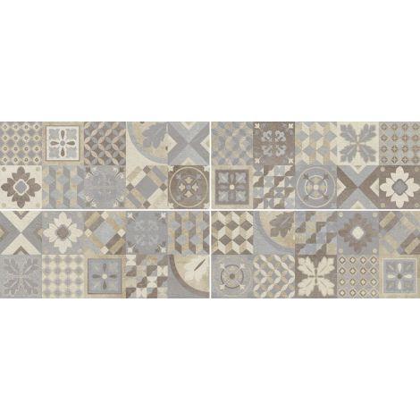 Savoia Mood Decoro Cementina Multicolor 25 x 60 cm