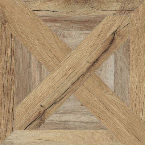 Flaviker Nordik Wood Palace Beige / Gold 60 x 60 cm