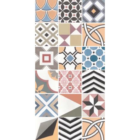 Equipe Caprice Deco Patchwork Colours 20 x 20 cm