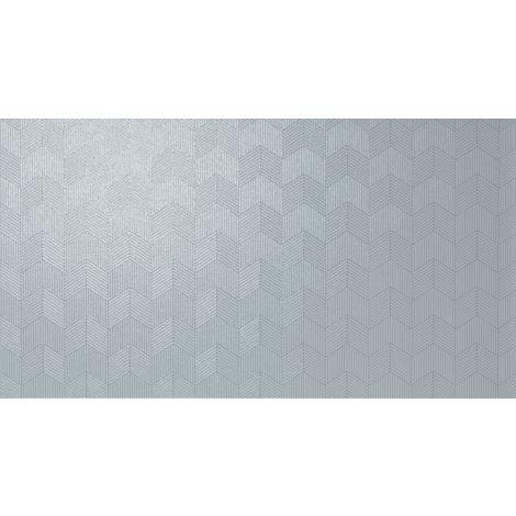 Fanal Pearl Chevron Blue 32,5 x 60 cm