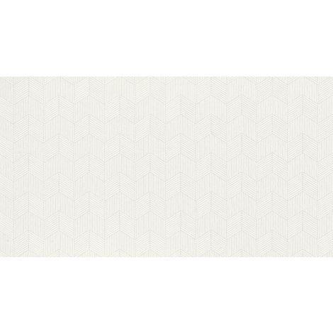 Fanal Pearl Chevron White 32,5 x 60 cm