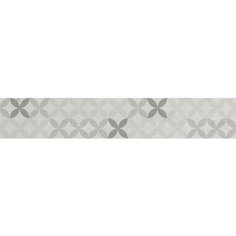 Savoia Smeralda Decoro Bianco 20 x 120 cm