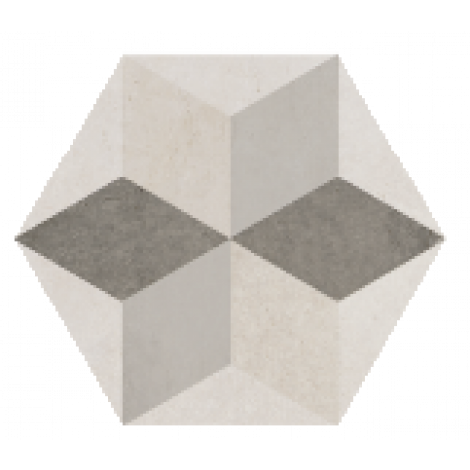 Savoia Domus Decoro Star Grigio 40 x 40 cm