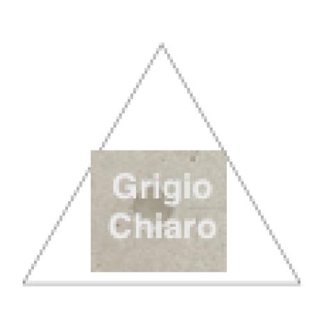 Fioranese Dot Triangle Grigio Chiaro 60,4 cm