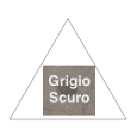 Fioranese Dot Triangle Grigio Scuro 60,4 cm
