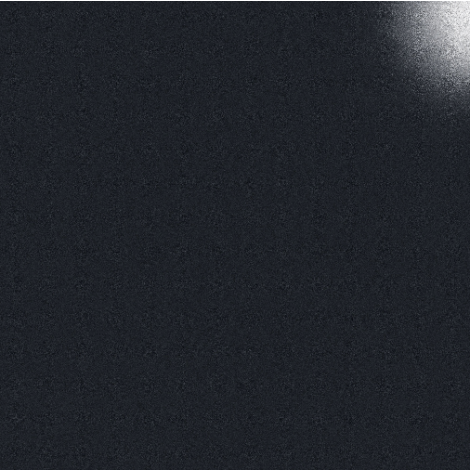 Fanal Universe Black Lap. 75 x 75 cm