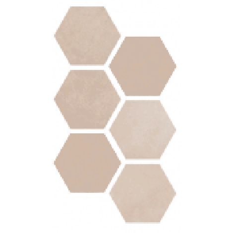 Argenta Atlas Hexagon Multicolor Warm 25 x 21,6 cm
